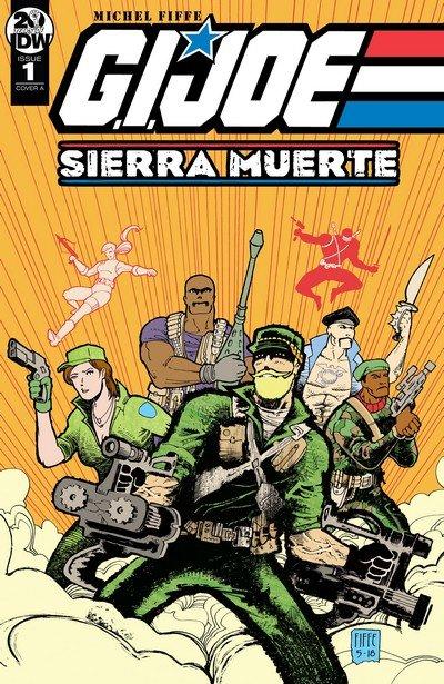 G.I. Joe – Sierra Muerte #1 – 3 (2019)