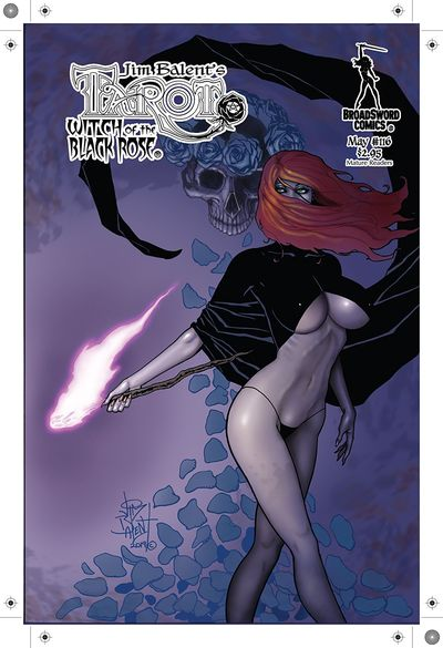 Tarot – Witch of the Black Rose #116 (2019)