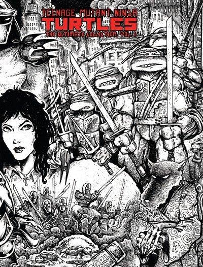 Teenage Mutant Ninja Turtles – The Ultimate B&W Collection Vol. 1 – 6 (2014-2016)