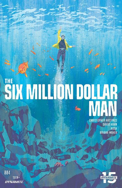 The Six Million Dollar Man #4 (2019)