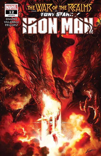 Tony Stark – Iron Man #12 (2019)
