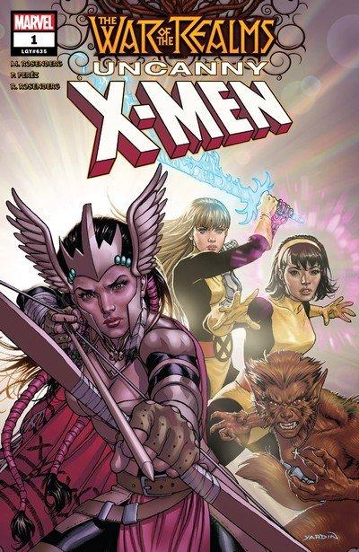 War of the Realms – Uncanny X-Men #1 – 3 (2019)