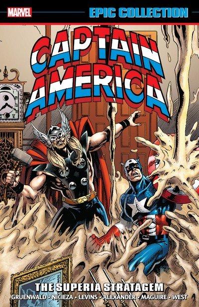 Captain America Epic Collection Vol. 17 – The Superia Stratagem (2019)