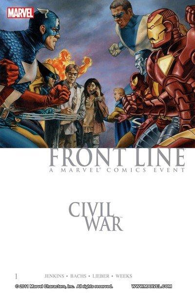 Civil War – Front Line Vol. 1 – 2 (TPB) (2007)