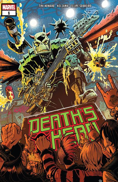 Death's Head #1 (2019)