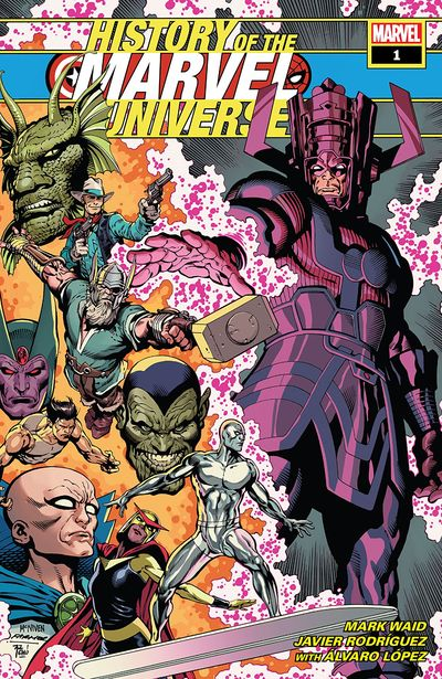 History Of The Marvel Universe #1 (2019)