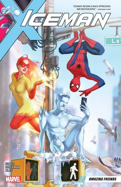 Iceman Vol. 3 – Amazing Friends (TPB) (2019)