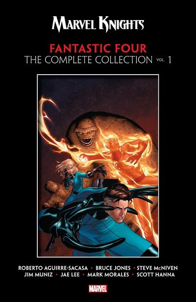 Marvel Knights Fantastic Four by Aguirre-Sacasa, McNiven & Muniz – The Complete Collection Vol. 1 (2019)
