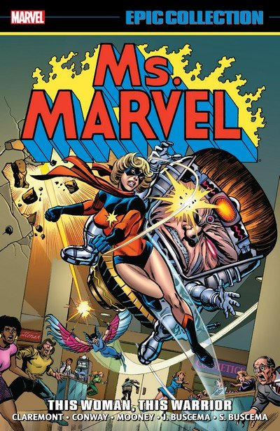 Ms. Marvel Epic Collection Vol. 2 – The Woman Who Fell to Earth (2019)