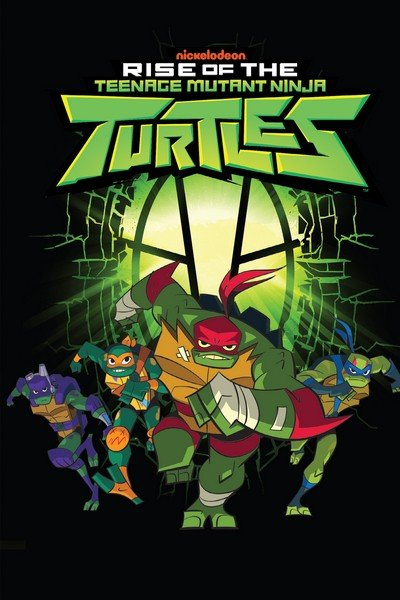 Rise of the Teenage Mutant Ninja Turtles (TPB) (2019)