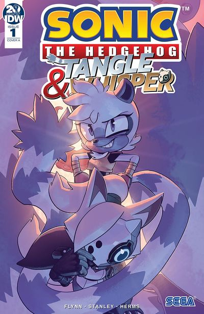 Sonic The Hedgehog – Tangle And Whisper #1 (2019)