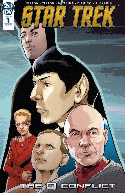 Star Trek – The Q Conflict #1 – 6 (2019)