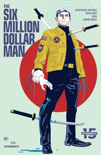 The Six Million Dollar Man #1 – 5 (2019)