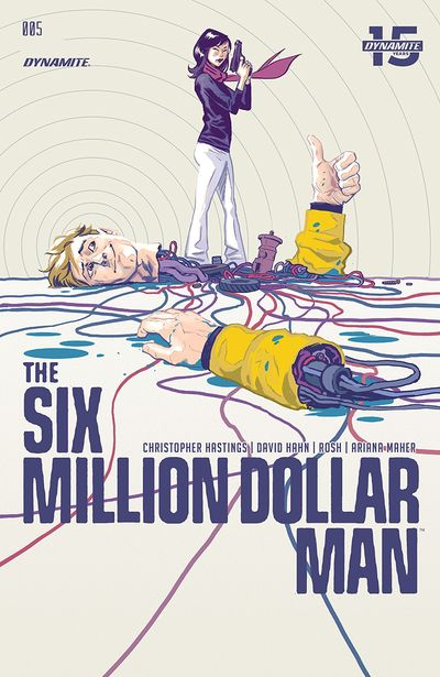 The Six Million Dollar Man #5 (2019)