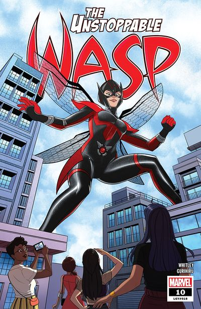 The Unstoppable Wasp #10 (2019)