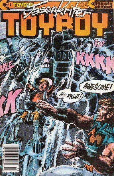Toyboy #1 – 7 (1986-1989)