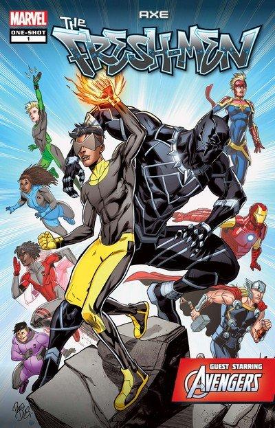 AXE – The Freshmen Featuring The Avengers #1 (2019)