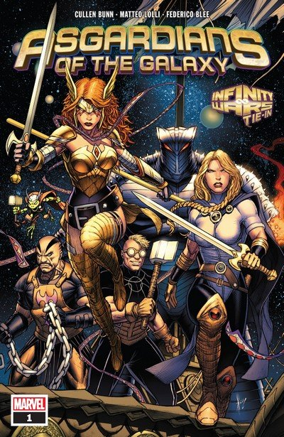 Asgardians of the Galaxy #1 – 10 (2018-2019)