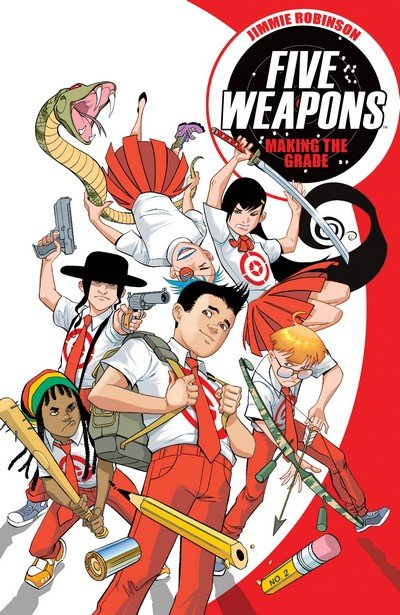 Five Weapons Vol. 1 – 2 (TPB) (2014)