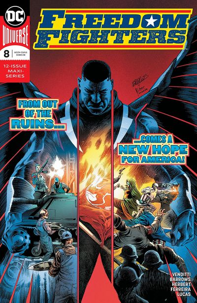 Freedom Fighters #8 (2019)