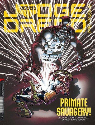 Judge Dredd Megazine #411 (2019)