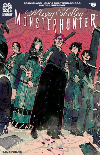 Mary Shelley Monster Hunter #5 (2019)