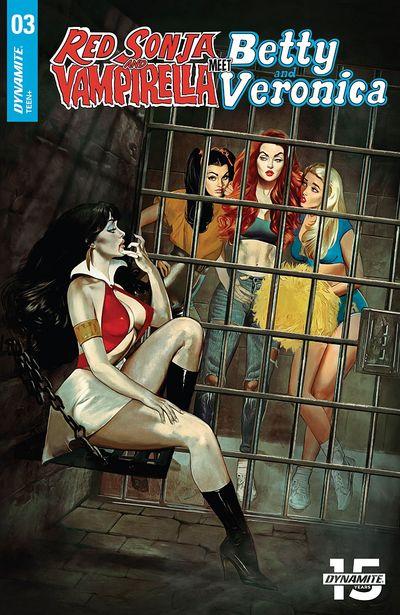 Red Sonja And Vampirella Meet Betty And Veronica #3 (2019)