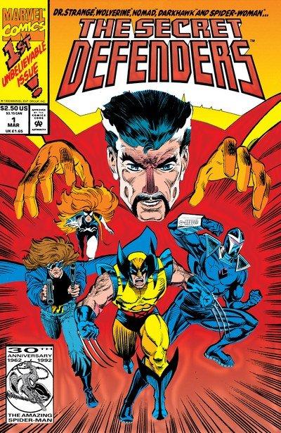 Secret Defenders #1 – 25 (1993-1994)
