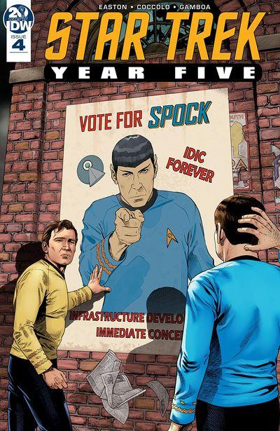 Star Trek – Year Five #4 (2019)