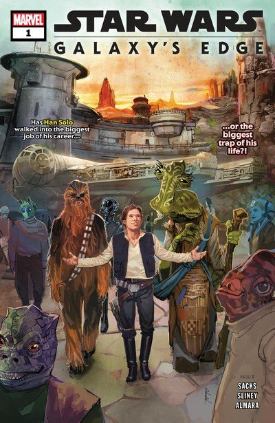 Star Wars – Galaxy's Edge #1 – 5 (2019)