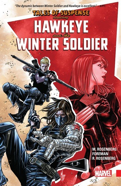 Tales of Suspense – Hawkeye & The Winter Soldier (TPB) (2018)