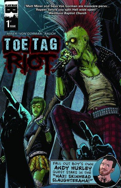 Toe Tag Riot #1 – 4 (2014-2015)