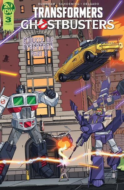 Transformers – Ghostbusters #3 (2019)