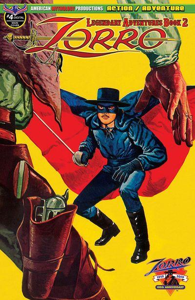 Zorro – Legendary Adventures Book 2 #4 (2019)