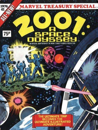 2001 – A Space Odyssey – Treasury Edition (1976)