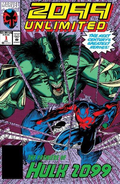 2099 Unlimited Vol. 1 #1 – 10 (1993-1995)