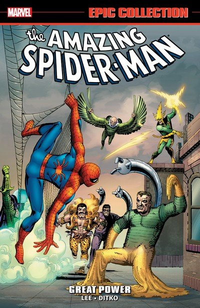 Amazing Spider-Man Epic Collection Vol. 1 – Great Power (2014)