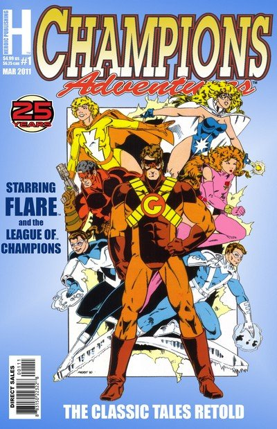 Champions Adventures #1 – 11 (2011-2014)