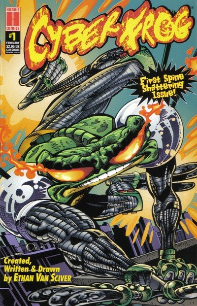 Cyber Frog #0 – 4 + Extras (1996-2001)