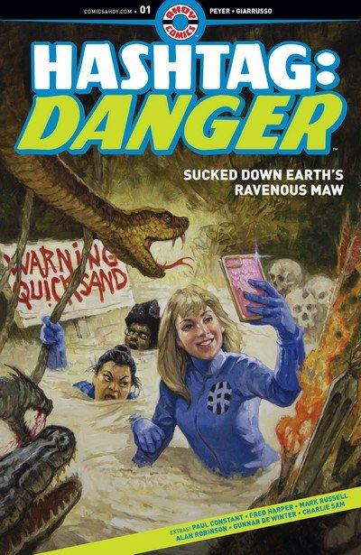 Hashtag – Danger #1 – 5 (2019)