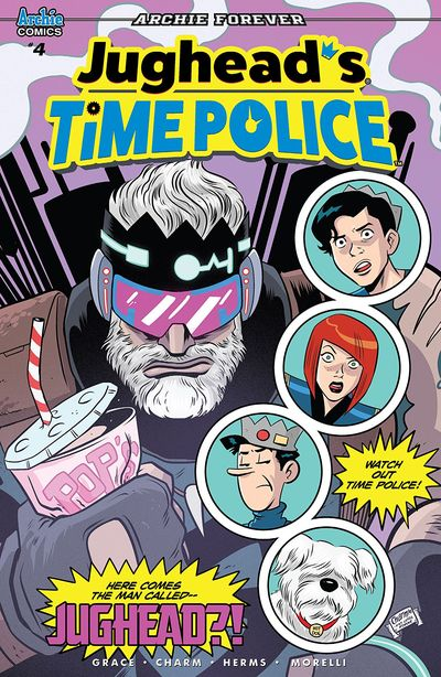 Jughead's Time Police #4 (2019)