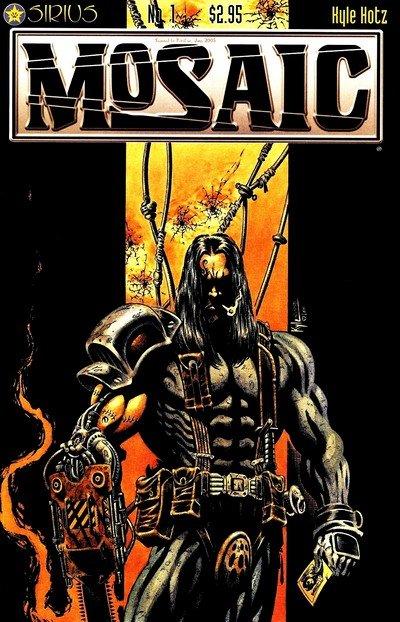 Mosaic – Hell City Ripper #1 – 5 (1999)