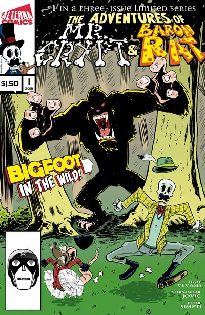 Mr. Crypt and Baron Rat #1 (2019)