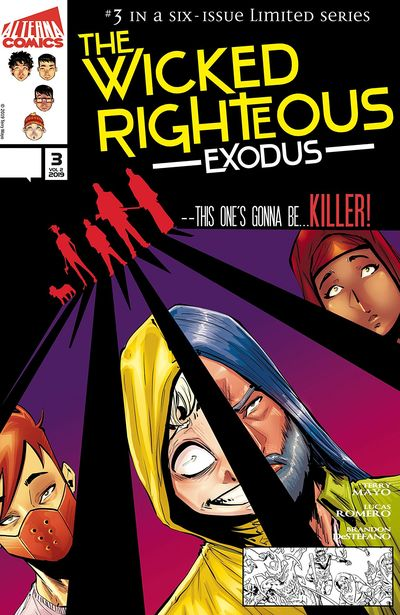 The Wicked Righteous – Exodus #3 (2019)