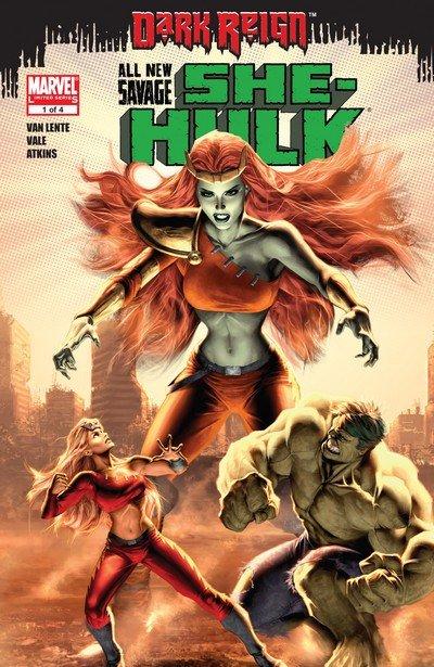All-New Savage She-Hulk #1 – 4 (2009)