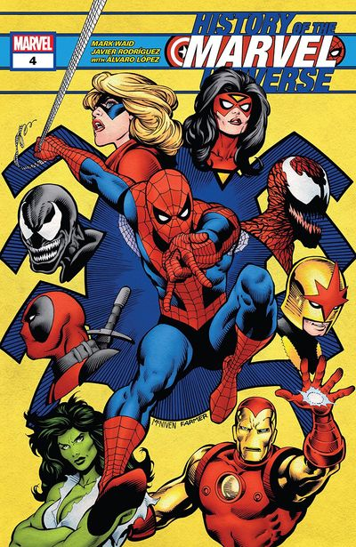 History Of The Marvel Universe #4 (2019)