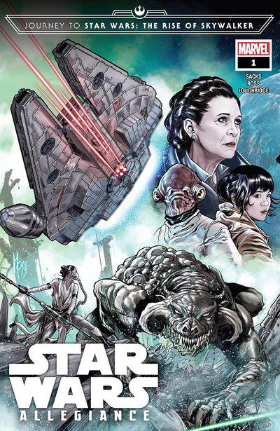 Journey To Star Wars – The Rise Of Skywalker Allegiance #1 (2019)