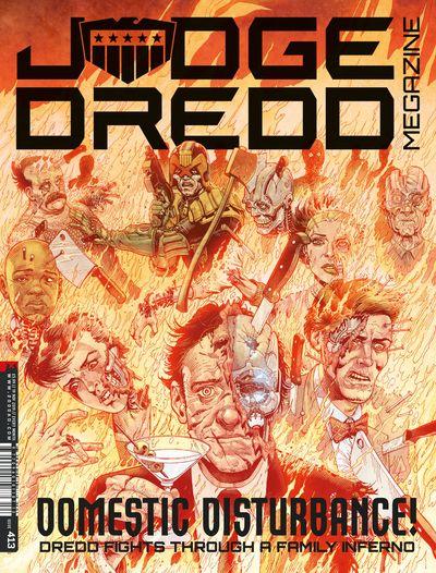 Judge Dredd Megazine #413 (2019)
