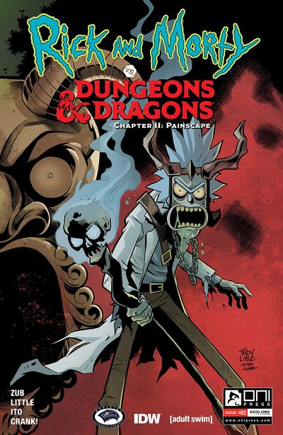 Rick And Morty Vs Dungeons And Dragons II – Painscape #2 (2019)