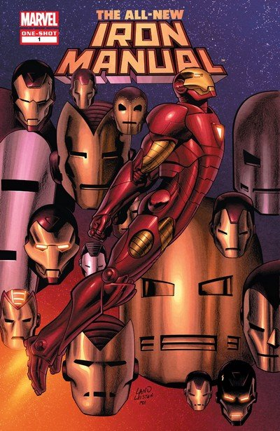 The All New Iron Man Manual #1 (2008)
